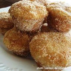 Cinnamon Sugar Donut Muffins, YUM.