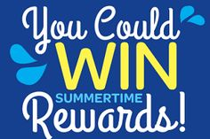 Nestlé Waters Summer Prizes Sweepstakes & Instant Win Game!