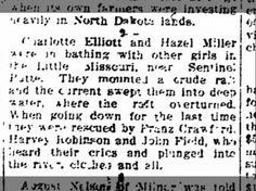 Miller, Hazel: Raft Overturned