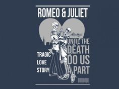 the vector illustration design , 3 colors available on CDR file , Adobe illustator, Eps ,pdf the theme is about tragic love story of Romeo and juliet pakaging as a vintage comic Tragic Love Stories, Vintage Comics, Romeo And Juliet, Shakespeare, Love Story, Shirt Designs, Illustration, T Shirt, Supreme T Shirt