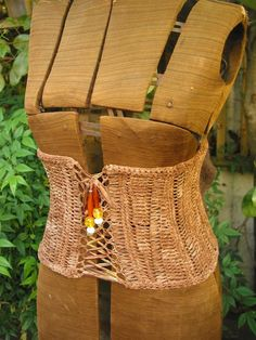 Outerwear Corset Crochet Pattern similar to wide belt idea i was looking for