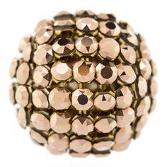 19mm Crystal Rose Gold Swarovski Crystal Mesh Ball