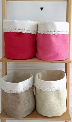 18 Ideas For Patchwork Artesanato Tecido Organize Fabric, Fabric Bins, Fabric Storage, Fabric Basket, Patchwork Blanket, Patchwork Patterns, Sewing Patterns, Alpillera Ideas, Patchwork Kitchen