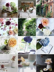 Fantastic Instagram feed by busy mum Sarah who signed up for a 4-week online flower arranging class