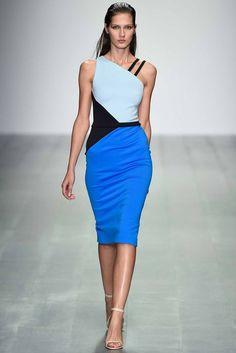 London Fashion Week Day 3 David Koma Spring/Summer 2015 Ready to wear 14 September 2014 London Fashion Weeks, David Koma, Runway Fashion, Spring Fashion, Fashion Show, Fashion Design, Women's Fashion, Eleonore Toulin, Larissa Hofmann