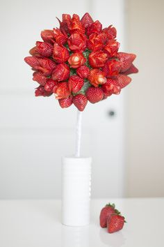 Strawberry Flower Bouquet