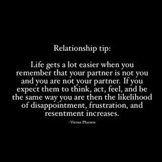 A Golden nugget here from Life also gets a lot easier when you remember that your current (or future) partner is not any of… New Relationship Quotes, Healthy Relationship Tips, Healthy Relationships, Marriage Life, Love And Marriage, Quotes To Live By, Me Quotes, My Guy, Self Help