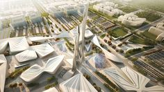 2017 World Expo Zaha Hadid Architects, Coop Himmelb(l)au, UNStudio, Snøhetta, J. Mayer H., Safdie Architects