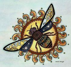 Cosmic Sun Bee