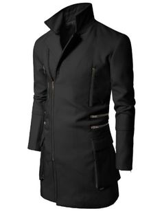 Doublju Mens Slim Coat with Zipper Point BLACK (US-L) Doublju,http://www.amazon.com/dp/B009LW0TCM/ref=cm_sw_r_pi_dp_rvE0sb0HX3V8BK1Z