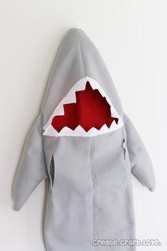 Shark Costume - Create Craft Love