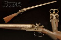 This well-preserved 12 gauge Class B double-barrel shotgun (from the Winchester factory collection) is representative of the quality of construction and high level of embellishment the imported British models offered. Between 1879 and 1884, Winchester imported approximately 10,000 examples of varying grades.