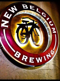 New Belgium Beer Sign