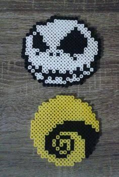 Nightmare before christmas perler bead inspiration.
