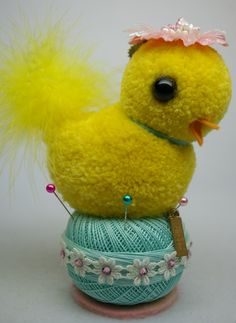 pompom chick found on esty
