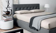 Novamobili | Colette, Bed, Tempo Notte, Design Made in Italy