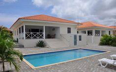 Curacao vakantievilla huren. Een schitterende 8 persoons villa te huur