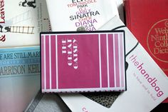 I would love to make so many of these... so many books!