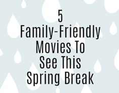 5 Family-Friendly Movies To See This Spring Break - Modern Mama Broken Movie, Jeremy Camp, Poppy And Branch, Drama Film, Kinds Of Music, Friends Family, Hard Rock, Spring Break, Fraser Valley