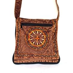 Embroidered Passport Bag - Nepal  http://www.worldtravelart.com/Embroidered_Passport_Bag_Nepal_p/cpp-205-br.htm