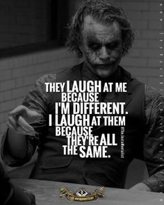 The Joker Heath ledger best quotes with images and Text Quotes Dark Quotes, Wisdom Quotes, True Quotes, Quotes To Live By, Motivational Quotes, Funny Quotes, Inspirational Quotes, Quotes Quotes, Weird Quotes