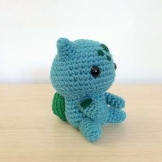 Balbasaur - Pokemon Character - Free Amigurumi Pattern here: http://53stitches.tumblr.com/post/95316460702/bulbasaur-amigurumi-pattern