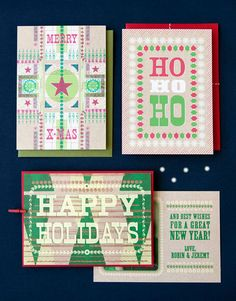 Hammerpress Holiday Cards for Hello!Lucky