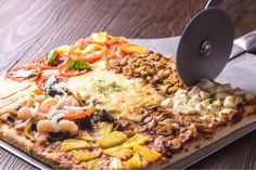 Take bite after bite of our freshly baked pizza showered with nine different mouthwatering, gourmet toppings for the ultimate pizza… Resorts World Manila, Pizza Bake, Freshly Baked, Paella, Ethnic Recipes, Instagram, Food, Gourmet, Essen