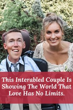 Hannah Burcaw has been mistaken as her husband's nurse more times than she can count. Some people have a hard time wrapping their minds around the pair's relationship, as Shane lives with a disability while his wife does not. But together, they're opening hearts and minds by reminding everyone that interabled couples are just as capable of love as anyone else!