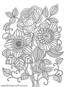 Mon Jardin Interieur Coloring Book Agenda 2015 On Behance