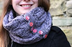 Ravelry: Gothic Lace Cowl pattern by tincanknits