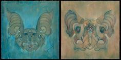 Collected fine art, commercial work, sketches and comic work of the artist