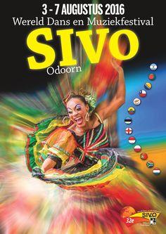 Tijdens het 32e Wereld Dans en Muziekfestival SIVO komen in het Drentse Odoorn twaalf buitenlandse dansgroepen in actie. Kijk voor het volledige programma en...