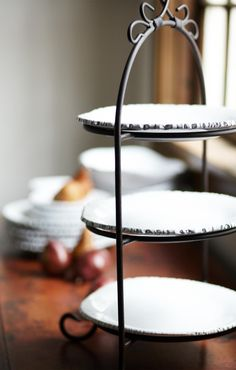 A three tiered plate stand for everyday or special occasions.I love my tiered & IMAX Home 9722 Single Plate Holder Home Decor Accents Easels | Plate ...