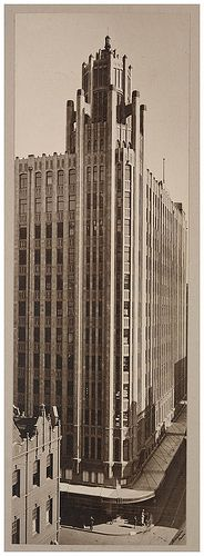 Grace Building, Sydney, Australia from the State Library of New South Wales Deco-gothic skyscraper in Sydney. The Wikipedia entry for the building shows it's had a distinguished history, originally a. Grace Building, Sydney City, Art Deco Buildings, Amazing Buildings, Historical Pictures, Art Deco Design, Old Photos, Vintage Photos, Sydney Australia