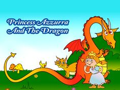 Princess Azzurra And The Dragon - Sometimes it's hard to give up things we love, but often sharing them with someone else means to have a bigger reward! Princess Azzurra makes a new friend and learns an important lesson. Read the story of Azzurra and help her making friends with a Dragon and solve the puzzles along the way.
