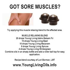 Young Living Essential Oils Muscle Relaxing Blend by jayner