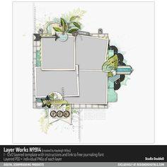 Layer Works No. 914- Studio Double-D Templates- LT711798- DesignerDigitals