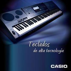 Sabia que os teclados Casio possuem uma alta tecnologia?