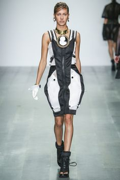 KTZ womenswear, spring/summer 2015, London Fashion Week