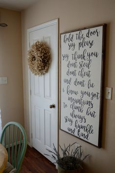 Humble and kind farmhouse sign by craftycozyhomes on Etsy