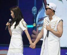Lovey dovey  #kanggary #songjihyo (RM Fanmeet at Shanghai, 21-08-2015)