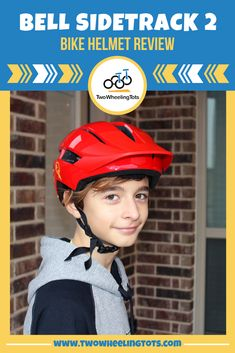 If you're looking for a quality bike helmet for your child, you'll want to read our review of the Bell Sidetrack 2!   This 2020 updated helmet has a new dial-adjust design that we put to the test on riders from toddlers to tweens.  From size and shape, to adjustability and buckles, we've done all the research so you don't have to.    Click through to read the full review! Kids Helmets, Bike Equipment, Hydration Pack, Kids Bike, Tween, Your Child, Toddlers, Shape, Children