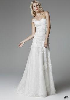 vestido de noiva petalas