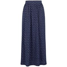 Fat Face Josie Batik Ditsy Maxi Skirt, Navy (2,725 PHP) ❤ liked on Polyvore featuring skirts, blue skirt, long navy skirt, long blue skirt, floral print skirt and navy blue maxi skirt