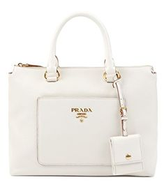 0a9f89453edc67 Prada Women's Calf Leather Shoulder Bag Black