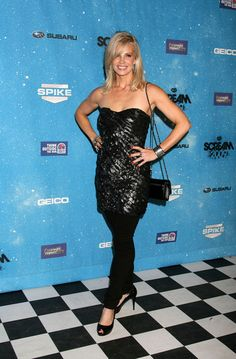 Monica Potter Photos: Guests Arriving At Spike TV's 2009 Scream Awards