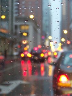 I love the smell of rain, and how it gives everything a new dimension, look, and how it gives me a new perspective.