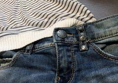 Denim Jeans and Stripes - www.momeme.it