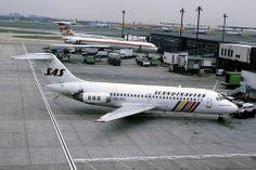 47303  Douglas DC-9-21  SE-DBS SAS Heathrow Airport